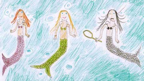 The Transforming Mermaid